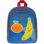 KIDZROOM batoh Veggies s kapsou banán,modrý