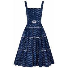 f3ec304bfcb2 Collectif dámské retro šaty Erina námořnice