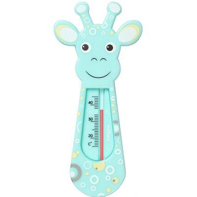 Dětský teploměr do vaničky, zelená žirafa New, Baby Ono