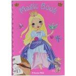 Omalovánka Magic Book My Style Princess Světle růžová