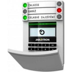 JA-114E Sběrnicový přístupový modul s displejem, klávesnicí a RFID