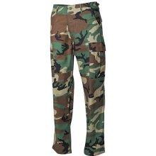 Kalhoty BDU-RipStop woodland