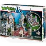 Wrebbit 3D puzzle Zamek Neuschwanstein 890 dílků