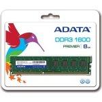 ADATA DDR3 8GB 1600MHz CL11 AD3U1600W8G11-R