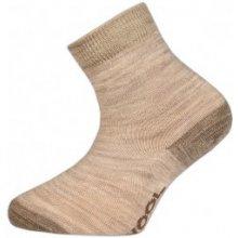 d524c457934 TREPON Dětské vlněné ponožky VLNKA