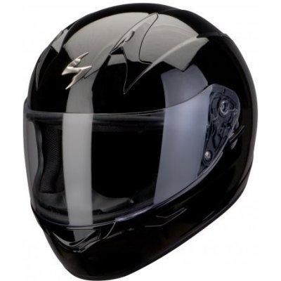 SCORPION EXO-410 AIR černá lesklá integrální helma na motorku XXL