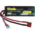 LiPol Car Black Magic 11.1V 1400mAh 30C Deans