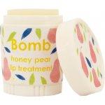 Bomb Cosmetics Hruška a med Honey Pear Balzám na rty 4,5 g