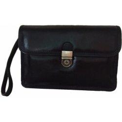 f2c13366e2 taška a aktovka VIA LATTEA luxusní kožená pánská etue černá 52034