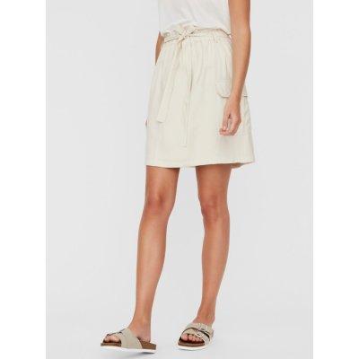 Vero Moda sukně Venus smetanová
