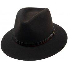 0407c5517b3 Plstěný klobouk tmavě hnědá Q6062 11905 15AE
