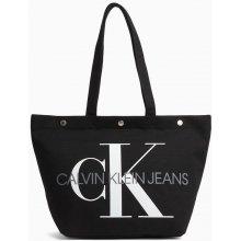 1487585685 Calvin Klein černá taška Bottom Tote Monogram Black