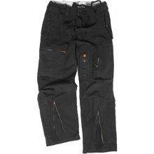 MIL-TEC Kalhoty PILOT předeprané černé