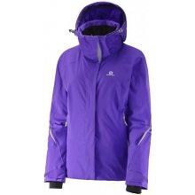Salomon Brilliant Jacket W phlox violet 382639 dámská nepromokavá zimní lyžařská  bunda c8c707d319