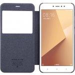 Pouzdro Nillkin Sparkle S-View Xiaomi Redmi Note 5A Prime černé