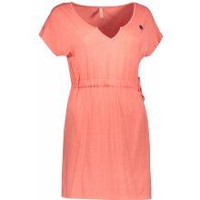 Nordblanc dámské šaty Sundry NBSLD6766 Mandarinka růžová 9a6a6b02df
