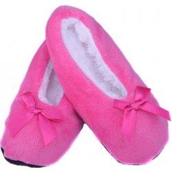 Ellasun Domácí balerínky bačkory tmavě růžová dámská obuv - Nejlepší ... 378efbb901