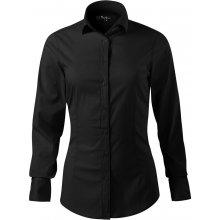 ADLER Dynamic Dámská košile s dlouhým rukávem 26301 černá