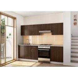 Kuchyně Stolkar Kuchyně RENATA 120/180 cm, ořech virginia
