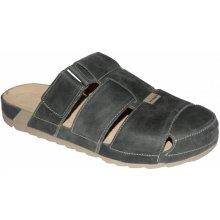 81338614f8e9 Medistyle zdravotní pantofle MAREK 7M-J14 hnědá