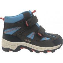 df140c49298 Bugga Chlapecké zimní boty - černo - modré