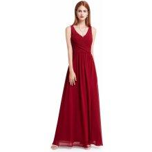 Ever Pretty plesové šaty společenské 8871 bordó 37b15efb266