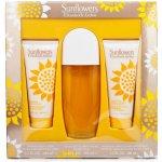 Elizabeth Arden Sunflowers Woman EdT 100 ml + tělové mléko 100 ml + tělový čistící krém 100 ml dárková sada