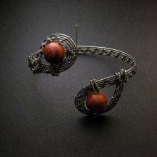 "Mariema náramek s korály ""Had se dvěma hlavami"" MA80"