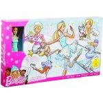 Mattel Adventní kalendář s panenkou Barbie FGD01