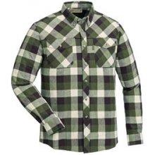Košile dřevorubecká PINEWOOD Lumbo flannel kostkovaná ZELENO   BÍLÁ deae95f065