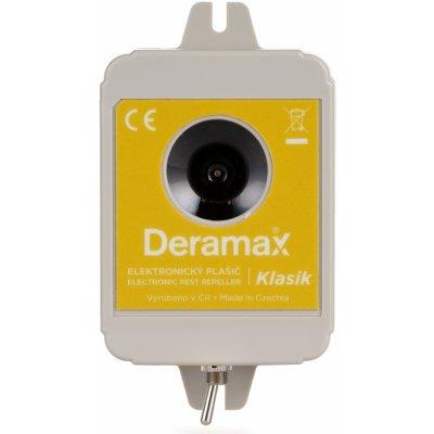 Deramax Klasik - bateriový ultrazvukový plašič kun a hlodavců na 150m²