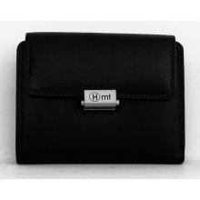 Kvalitní kožená HMT peněženka černá