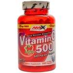 Amix Vitamin C 500mg plus Rose Hips 125 kapslí