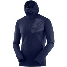 33f8386244 SALOMON GRID HZ MID HOODIE M-Night Sky