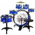 JAZZ DRUM. Dětská bicí souprava bubny pro kluky Blue