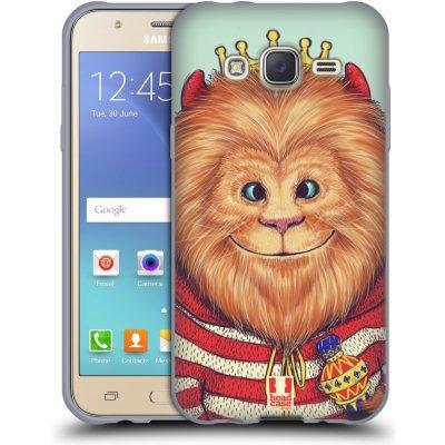 Pouzdro HEAD CASE Samsung Galaxy J5, J500, (J5 DUOS) vzor Kreslená zvířátka lev