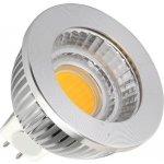 LED žárovka MR16 5W COB Teplá bílá