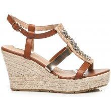 Bellucci vysoké sandály espadrilky