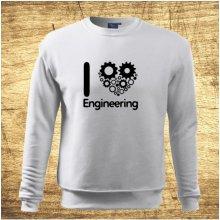 I love engineering Bílá
