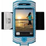 Pouzdro běh iPHONE 4s Un43 stříbrné/modré N
