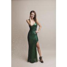 Eva   Lola společenské šaty Britney zelená d3814ddfa0