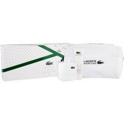 Lacoste Eau De Lacoste L.12.12 Blanc pro muže EDT 100 ml + sprchový gel 50  ml + kosmetická taška dárková sada 6ee5043ef4e