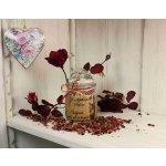Mýdlárna Šafrán Růžová sůl do koupele sklo 300 g