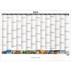 7df84212f2 Plánovací roční mapa obrázková 2016 - nástěnný kalendář alternativy ...