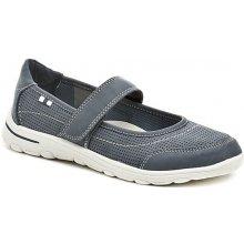 Dámská letní obuv 27622 baleríny modré