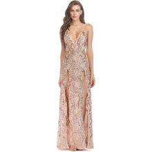 c1c30ac0fad5 Dámské společenské šaty Ivonet zlatá