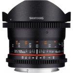 Samyang CINE 12mm T/3,1 ED AS NCS VDSLR Fisheye Sony
