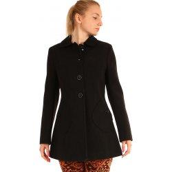 3c97c730265 ... kapucí z ovčí vlny Merino. Dámská bunda a kabát Glara dámský vlněný  kabát áčkového střihu černá