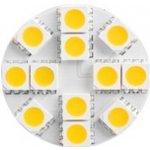 Forever Light LED žárovka 12×SMD 5050 2,6W G4 Teplá bílá