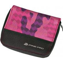 ALPINE PRO KUALA RŮŽOVÁFIALOVÁ Unisex peněženka